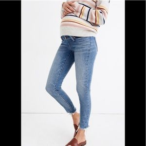 Madewell Maternity Side-Panel Skinny Jeans 30 NWT